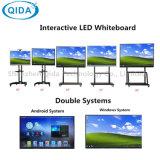 Intelligentes bewegliches interaktives Whiteboard für Multi-Media Klassenzimmer Multi-Berühren