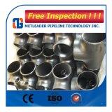 Te de las instalaciones de tuberías de acero de carbón de la alta calidad