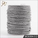 La moda de 3,2 mm de alta calidad de la cadena de bolas de arroz en el carrete Wholesale
