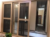 Раздвижная дверь следов Китая 2 алюминиевая с конструкцией решетки