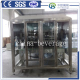 Ligne complète de l'eau de boisson de 5 gallons/gallon bouteille Fabricants/machine de remplissage de l'eau du fourreau
