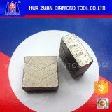예리한 다이아몬드 세그먼트 화강암