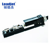 Impresora de inyección de tinta blanca del código de la fecha de vencimiento de la tinta de Leadjet V380p para la botella de cristal