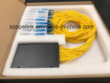 Gpon телекоммуникационных цветные волокна 1X32 с программируемым логическим контроллером системы делителя