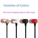 Auriculares magnéticos de alta qualidade de Bluetooth do metal para o iPhone