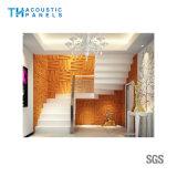Painel de parede 3D decorativo interior da fibra de poliéster do painel acústico para Hotal