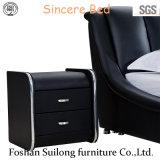 Base de couro real Ys7017 da mobília moderna