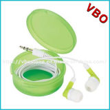 Embalaje lindo promocional de Earbuds con el caso plástico para MP3 los jugadores, MP4 jugadores, tablilla PCS