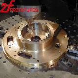 Части меди/стали/металла/алюминиевых точности подвергли механической обработке CNC, котор