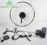 Kit elettrico innestato senza spazzola verde di conversione del motore del mozzo della bicicletta di Pedel G104 36V/48V 350W