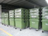 Alta qualità 1100L esterno Wastebin di plastica mobile/contenitore