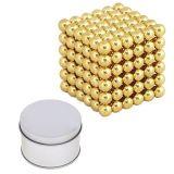 A inteligência magnética do bloco do ímã do enigma das esferas tornam-se e o relevo de esforço, esfera do esforço