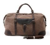 Sac bandoulière en cuir de haute qualité Mens grand sac de voyage pliable de sac à main