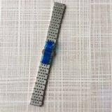 Intero cinturino solido Two-Tone d'argento spazzolato dell'acciaio inossidabile