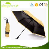 Ombrello di Sun piegante della pioggia del dispositivo promozionale del regalo per la signora