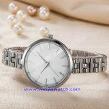 Reloj de la manera del reloj del cuarzo de los hombres de encargo de la insignia para el hombre (WY-17001C)