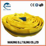 Imbracatura rotonda della tessitura dell'imbracatura da 3 tonnellate per alzare
