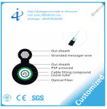 Le câble fibre optique FO de faisceaux de l'usine 12 de la Chine oh câblent pour la structure centrale d'Unitube