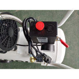 30L 750W Compressor van de Lucht van de Zuiger van de Stilte Oilless van de Schroef van de Pomp van de Lucht de Roterende Draagbare