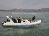 Barca del blu marino di velocità della barca di Patrole della barca del fante di marina di Liya 8.3m piccola