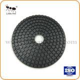 4 Po/100mm Tampon à polir de type durable Buff Pad pour les carreaux de marbre granit