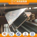 Marco del panel del fabricante de China para el solo satinado del aluminio/de Aluminio/de Windows de aluminio y de las puertas