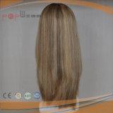 Spitze-vorderer blondes Haar-StückToupee (PPG-l-0349)
