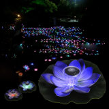 Wasser-beständiges im Freien sich hin- und herbewegendes Teich-Nachtsolarlicht für Solargarten-Pool-Licht