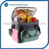 Zweifarbige Mittagessen-Beutel-Kühlvorrichtung-beweglicher Kühlvorrichtung-Beutel mit Isolieraluminiumfolie