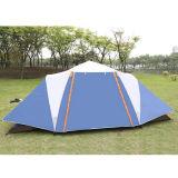 Mit zwei Schlafzimmern kampierendes wasserdichtes doppelte Schicht-grosses Zelt der Leute-5-8