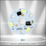 Módulo do diodo emissor de luz da C.A., 3W a 36W, usado para o bulbo, o projector, o Downlight etc. AC180-260V nenhum excitador da necessidade