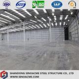 Costruzione del gruppo di lavoro della struttura d'acciaio per la pianta industriale