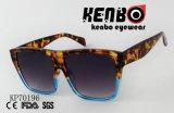 Óculos de sol frescos com lentes quadradas e frame dobro Kp70196 das cores