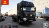 최신 판매! HOWO 트랙터는 맨 위 371HP 트레일러 트럭을 나른다