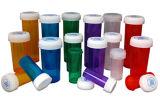 frascos de la farmacia de 13dr Priscription con el casquillo reversible