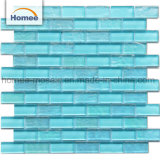 23X48 Blue Color Crystal Brick Tile Swimming Pool Mosaic Tile