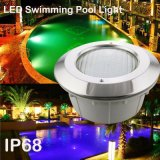 방수 색깔 여러가지 IP68 내재되어 있던 유형 LED 수영장 빛