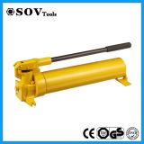 노란 색깔 유압 수동식 펌프