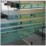 10.76 milímetros de vidrio laminado teñido de PVB/Sgp para la fachada