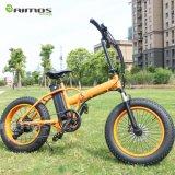 Pliage électrique de bicyclette de la graisse E pneu pliable de vélo de gros