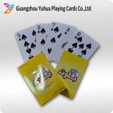 A alta qualidade Waterproof o póquer plástico dos cartões de jogo de 100%
