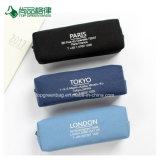 주문 고품질 다른 색깔 간단한 화포 지퍼 연필/펜 부대 도매
