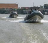 Barca militare della nervatura del blu marino delle barche della nervatura della Cina Liya 6.6m