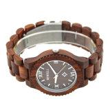 Het van de Bedrijfs manier van mensen Houten Horloge Naar maat gemaakte Privé van het etiket
