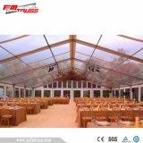 Алюминиевая рамка свадебный палатка с белой ткани ПВХ охватывает