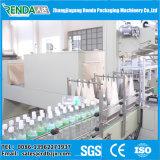 Macchina di imballaggio con involucro termocontrattile di calore della pellicola per la bottiglia di acqua dell'animale domestico