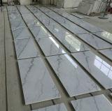 Telha de mármore branca a mais barata de mármore branca de China Chiva