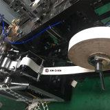 Régimen medio vaso de papel que hace la máquina