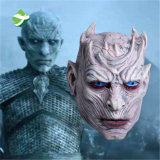 Re bianco della creatura del camminatore del ghiaccio delle zombie del migliore lattice di qualità della mascherina di Halloween di notte