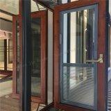 Calore-Isolamento americano di stile/finestra di alluminio della stoffa per tendine rottura termica con lo schermo dell'insetto